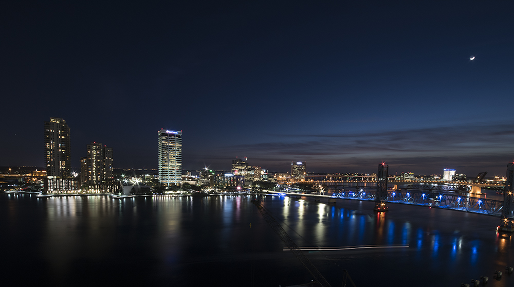 Night in Jacksonville, Florida