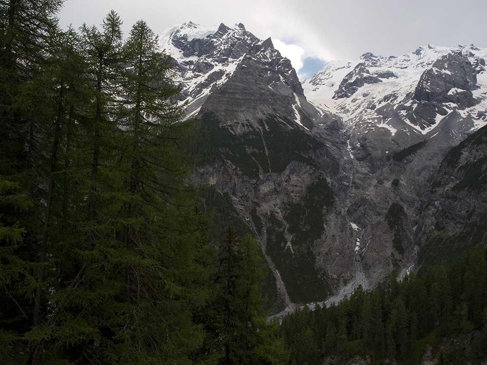 Italian Alps West Of Balzano
