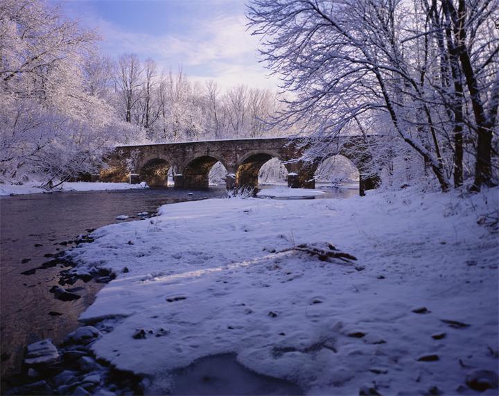 Cold Start at Bridge Valley, Bucks County