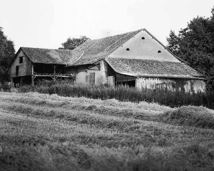 Excenevex Barn, France