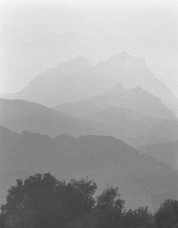 Foggy Morning Alps