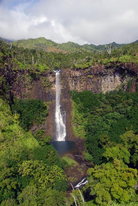 Kaua'i Waterfall