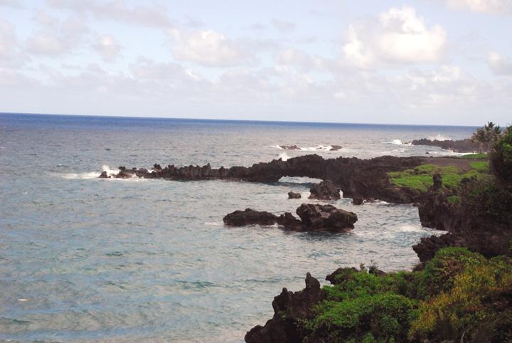 Lava Arch, Wai'anapanapa State Park, Maui