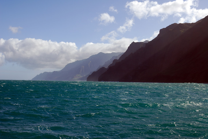 Na Pali Coast from the Water, Kaua'i