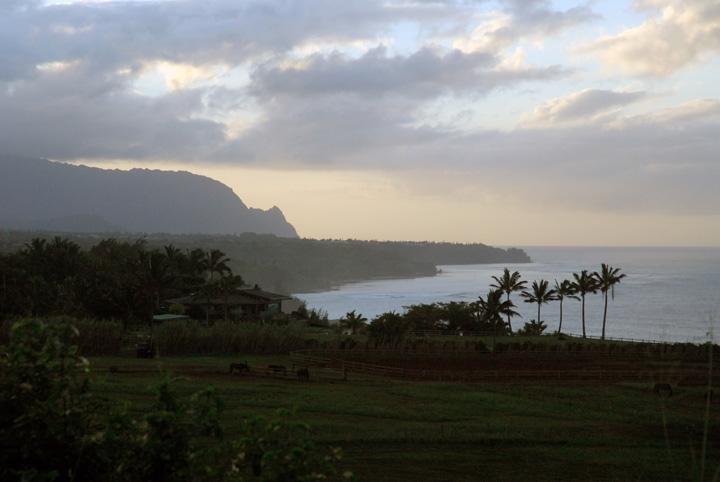 Na Pali Sunset Kilauea, Kaua'i