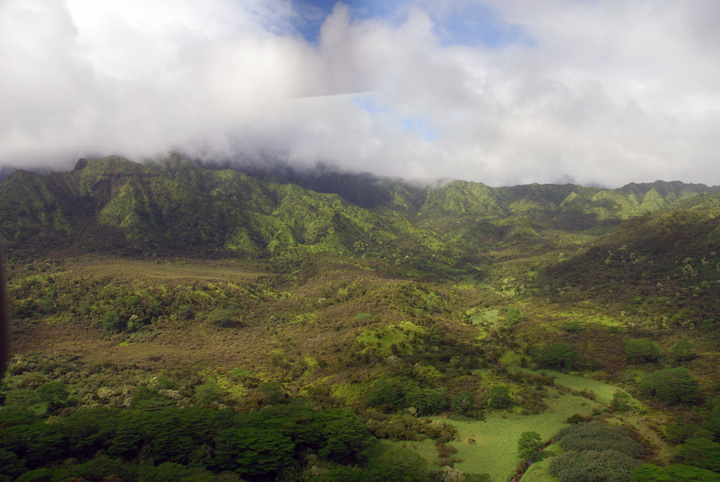 Upland Kaua'i From the Air