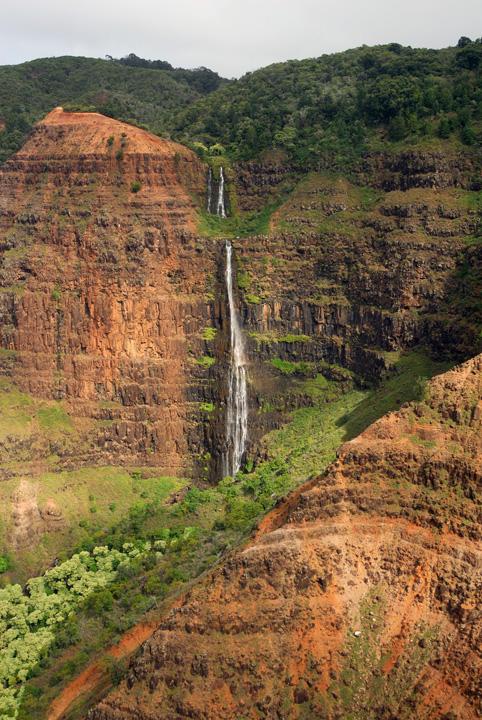 Waimea Canyon Waterfalls, Kaua'i