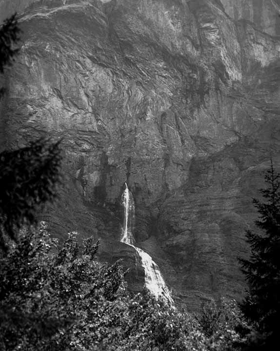 Water from a Cliff, Sixt Fer a Cheval
