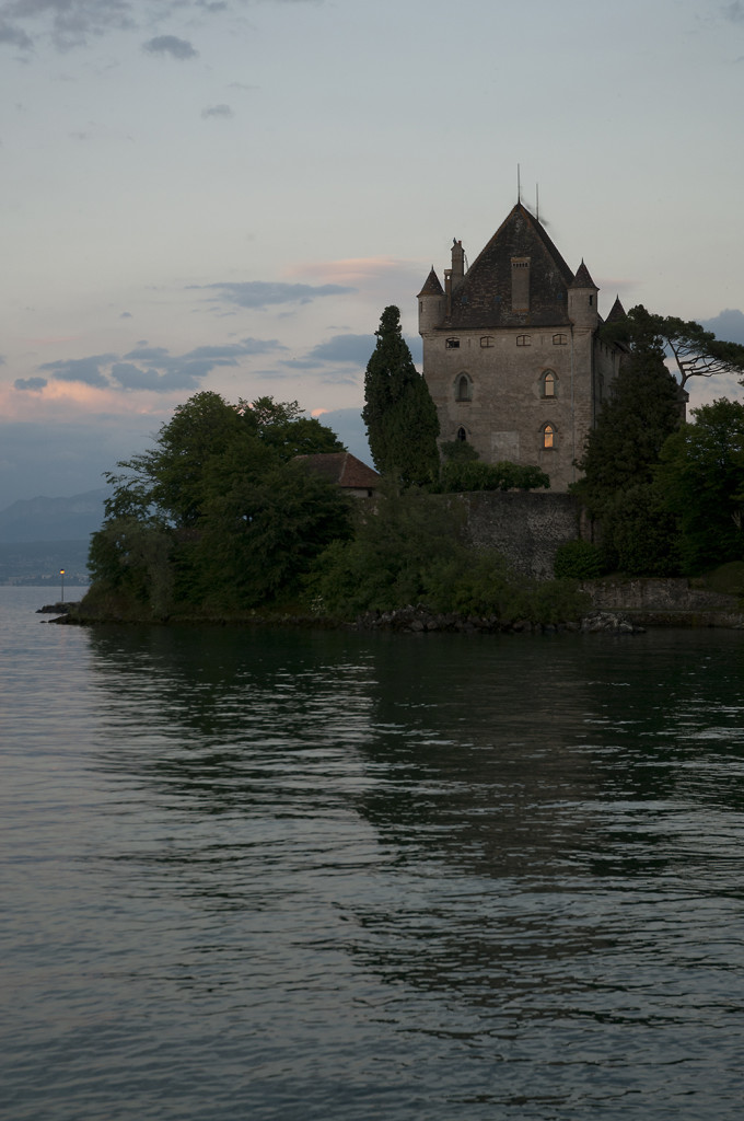 Baron'sCastle at Sunset, Yoire, France