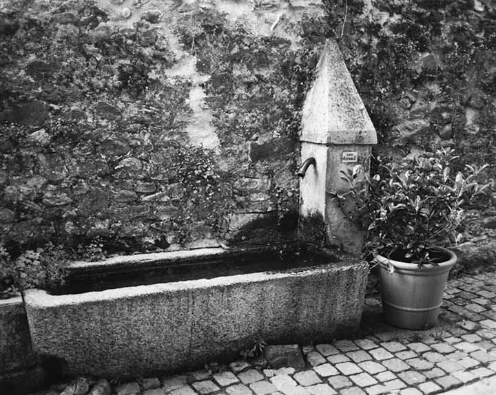 Watering Trough, Yvoire, France