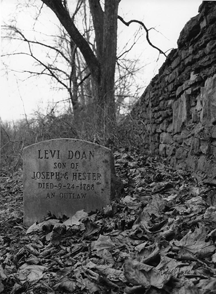 Levi Doan's Headstone